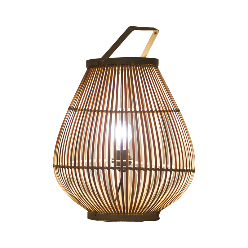 Creative original ecological home stay lamps living room bedroom bamboo desk lamp bedside lamp by hand decorated desk lamp
