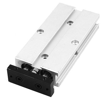 TN10x40 10mm Bore 40mm Stroke Double Rod Aluminum Alloy Pneumatic Air Cylinder цена