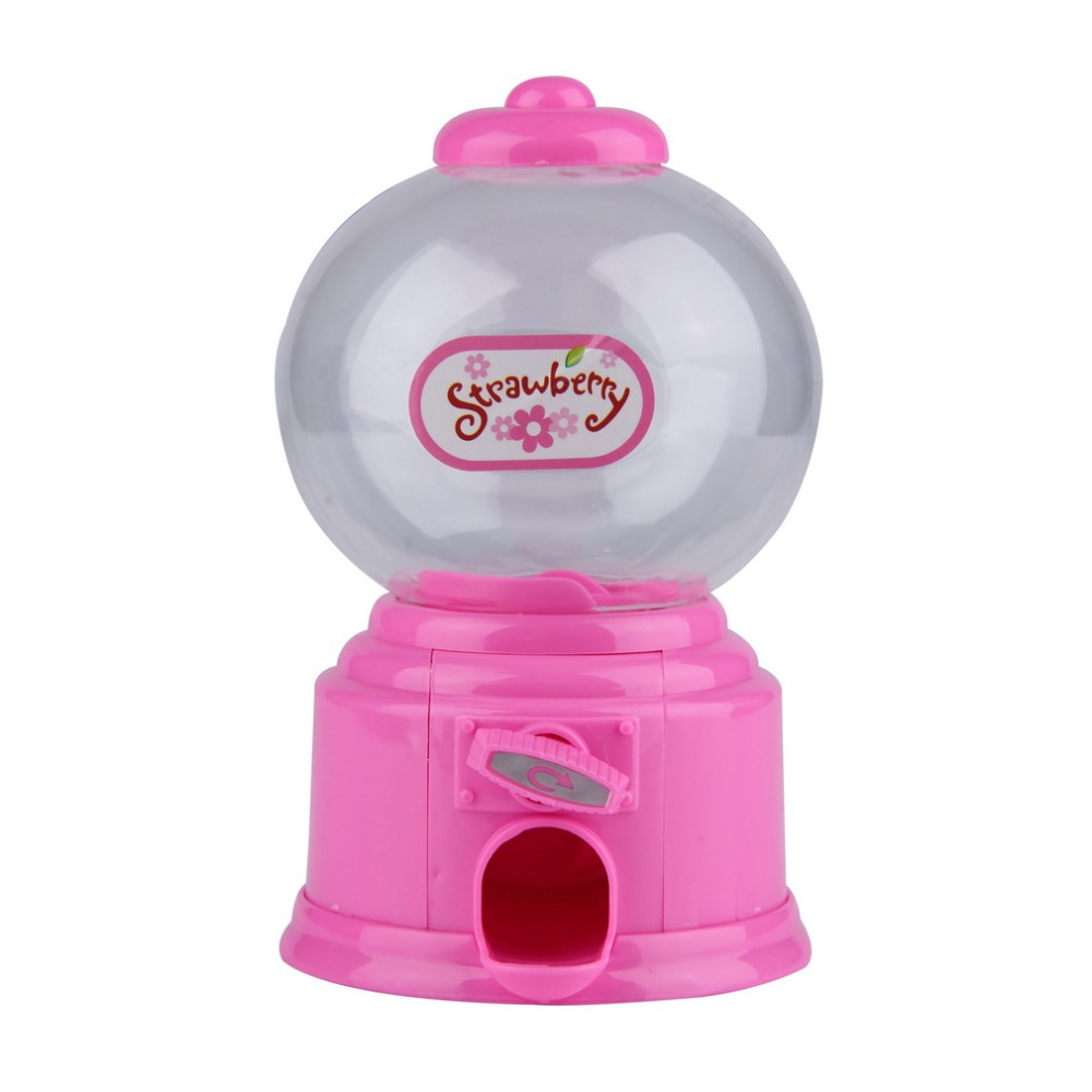 Cute Sweets Mini Candy Machine Bubble Gumball Dispenser Coin Bank ...