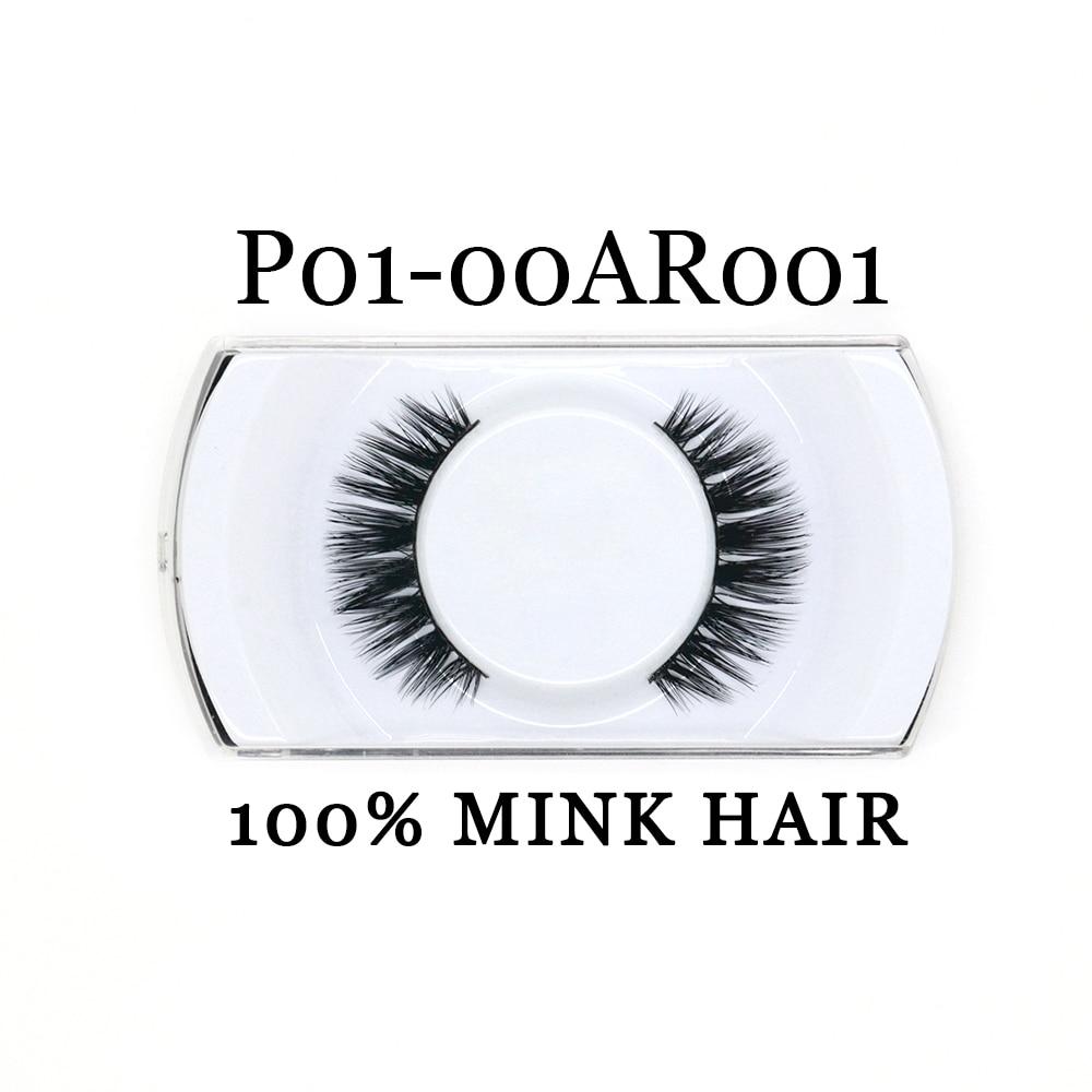 YADERS Hand Made False Eyelashes 3D Mink Lashes with Eyelash Packaging Box Makeup Tools Fake Eyelashes AAAAA