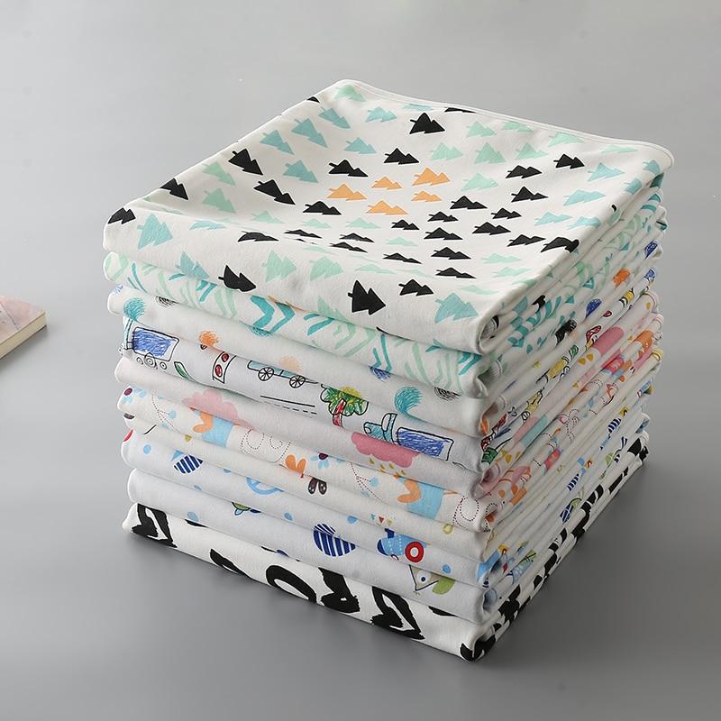Waterproof Reusable Baby Changing Pad Newborn Baby Nappy Mat Travel Waterproof Sheet Changing Mat Flodable Baby Diaper Pads