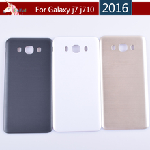 10pcs/lot For Samsung Galaxy J5 J7 2016 J510 J510F J710 J710F Housing Battery Cover Door Rear Chassis Back Case Housing 10pcs lot for samsung galaxy j5 prime on5 2016 g570 g570k housing battery cover back cover case rear door chassis shell