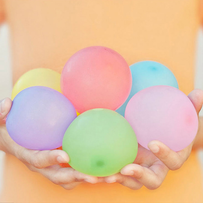 1444pcs Water Balloons Refill Package Funny Summer Outdoor Toy Water Balloon Bombs Summer Novelty Gag Toys For Children