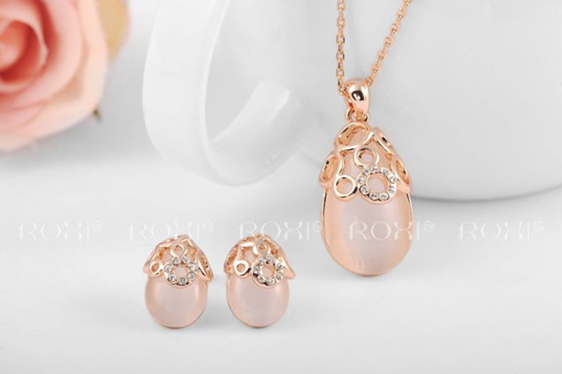 Stylish Suit Korean Fashion Jewelry Wholesale Ripe Fruit Rose Gold