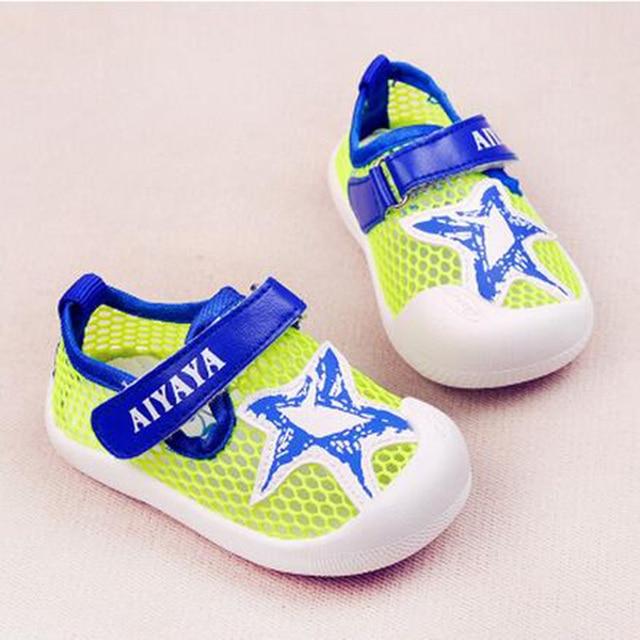 Toddler Shoes Air Mesh Canvas Sneakers Moccasins Botine De Futbol Original First Walkers Baby Booties Bootees Footwear 603171