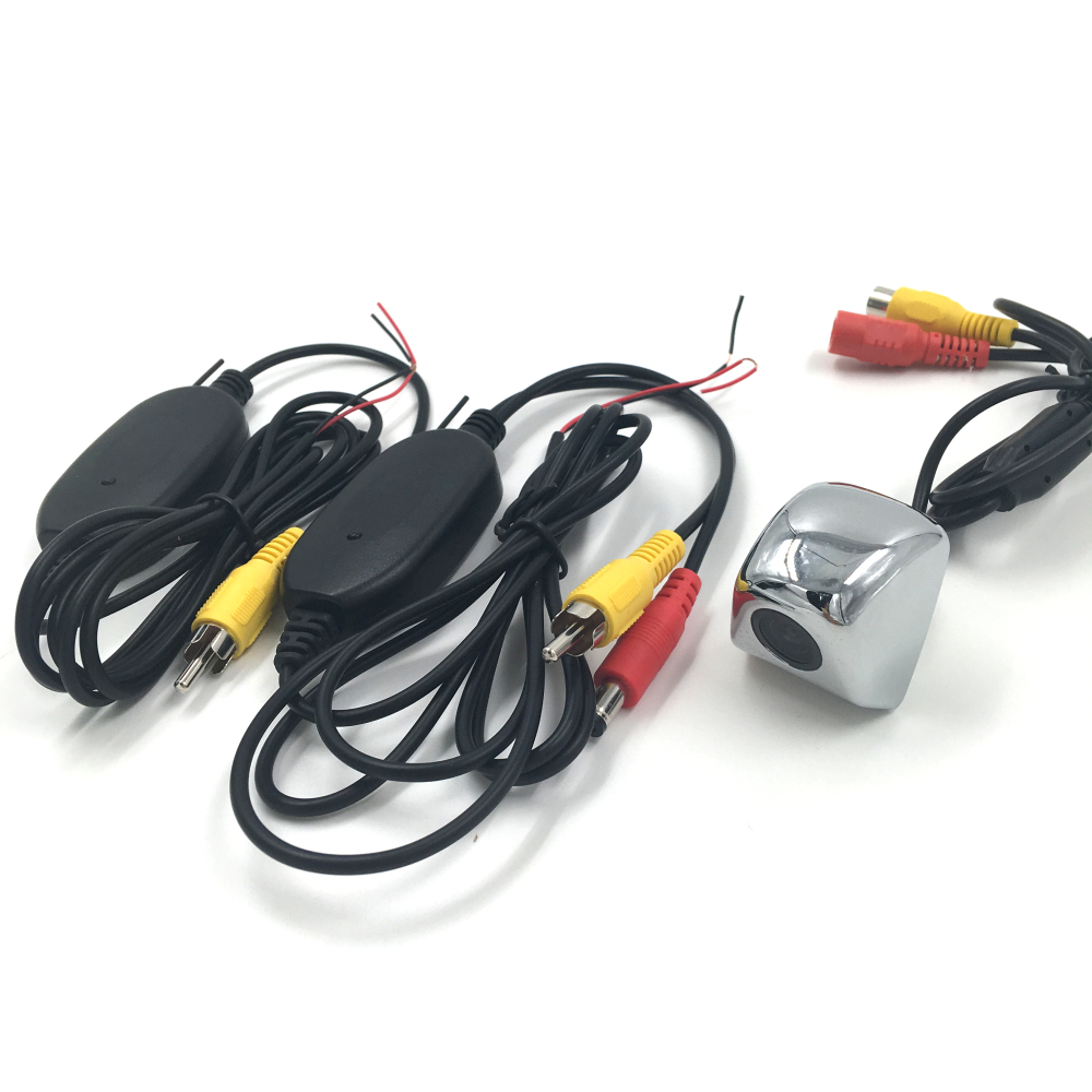 New Mini Back Up Reverse Rear View Vehicle Car Rearview Camera + 2.4G Wireless Transmitter Receiver for Parking Assistance