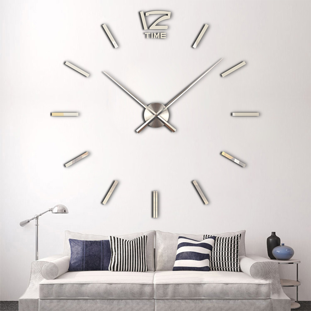 clock bracelet picture more detailed picture about 2017 hot sale 3d large wall clock modern. Black Bedroom Furniture Sets. Home Design Ideas