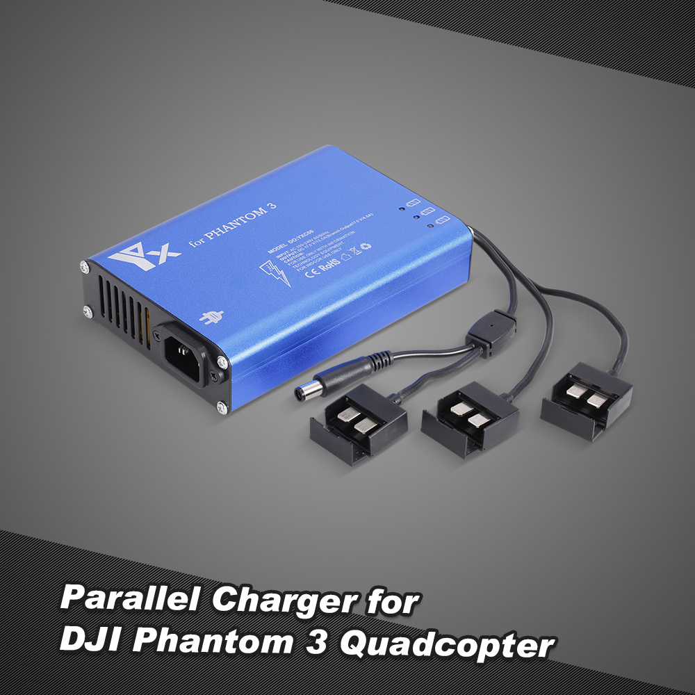 4 in 1 Parallel Power Hub Intelligent Battery Charger for DJI Phantom 3 Standard Professional Advanced
