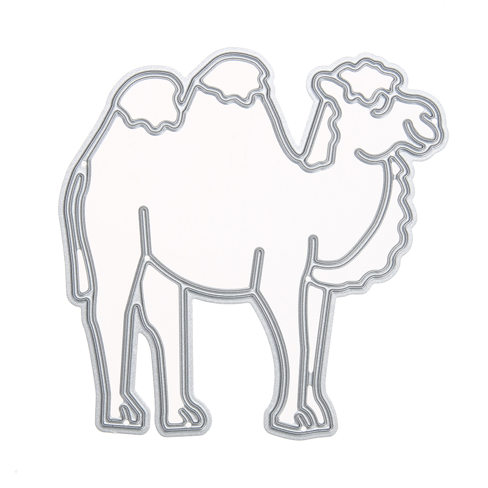 Big Camel Cutting Die Metal Stencil Children Handwork Paper Decor Kit Die...