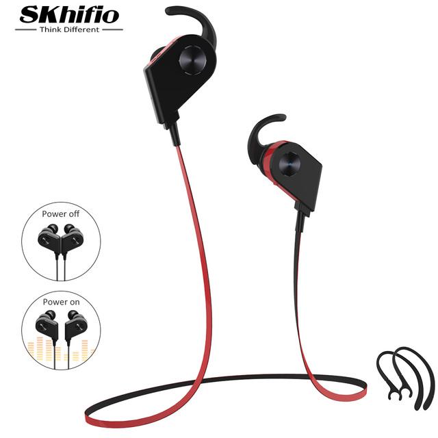 Skhifio auricular bluetooth para el teléfono inalámbrico auriculares estéreo para auriculares auricular inalámbrico de auriculares con micrófono para iphone xiaomi