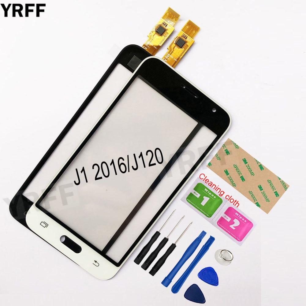 4.5'' For Samsung Galaxy J1 2016 J120F J120 Touch Screen Digitizer Sensor Touch Glass Lens Panel