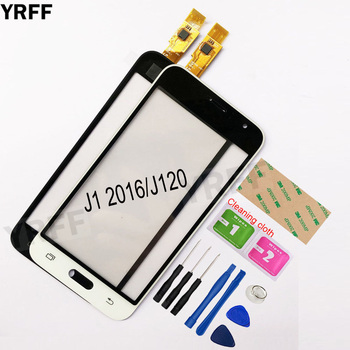 4.5'' For Samsung Galaxy J1 2016 J120F J120 Touch Screen Digitizer Sensor Touch Glass Lens Panel 10pcs lot for samsung galaxy j1 mini j105 j105h j105f j105b j105m sm j105f touch screen panel sensor digitizer glass touch