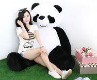 Мягкая игрушка, огромный 180 см и ни в коем случае Panda кукла плюшевые игрушки, мягкие объятия Подушка игрушка удивлены подарок на день рождени