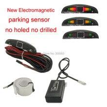 Новый Бесплатная доставка Электромагнитная датчик парковки, с 3 цветов LED diaplay и звуковой сигнал, не скрывался не сверлить