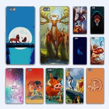 comic The Lion King Hakuna Matata design hard transparent Case Cover for Huawei P10 P8 P9 lite P7 Mate 7 8 Mate9 Mate S