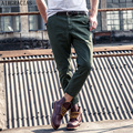 AIRGRACIAS 2017 New Arrivals High Quality Men's Loose Multi-Pockets Ankle-Length Pants 100% Cotton Men's Military Cargo Pants