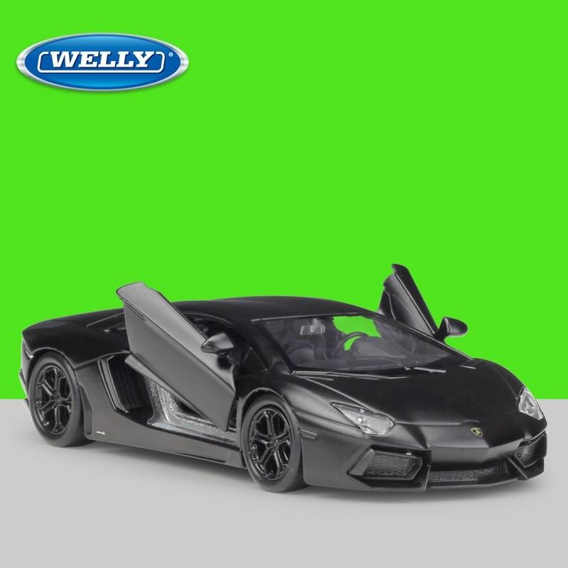 1:36 Welly Lamborghini Aventador LP700 Alloy Toys Diecast Model Car
