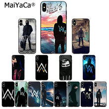 MaiYaCa Fade alan walker wzór TPU miękkie akcesoria do telefonów etui na telefon do Apple iPhone 8 7 6 6S Plus X XS MAX 5 5S SE XR(China)