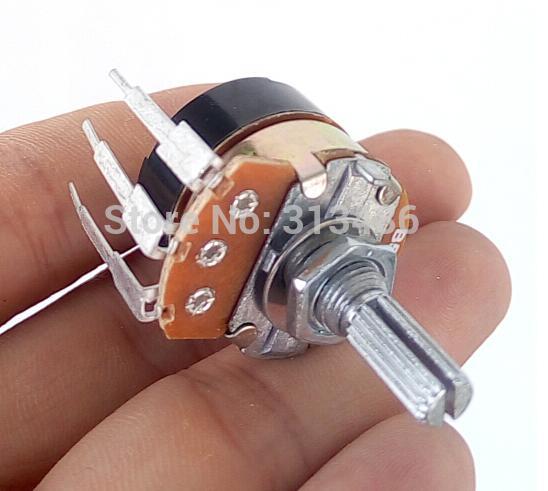 Потенциометр с переключателем, диммер, регулируемый потенциометр B5K B50K B500K