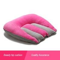 PanlongHome Thai Thick Buttocks Latex Cushion Chair Seat Car Office Cushion Pregnant Woman With Cushion Yoga
