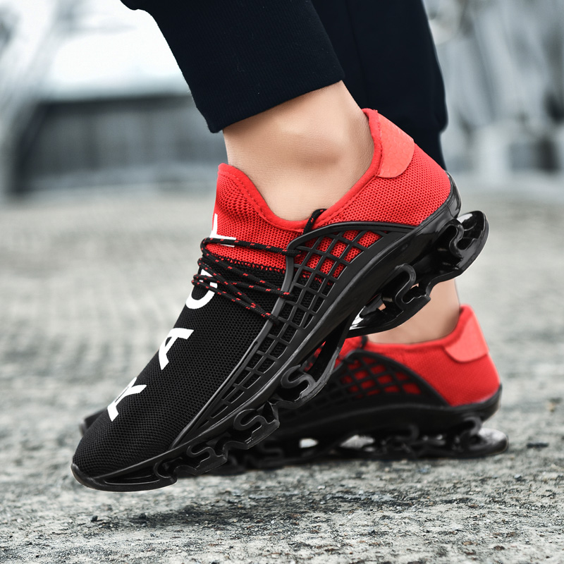 Hot Sale Running Shoes for Men Mesh Air Male Krasovki Sport Shoes Man Sneakers Breathable Lace-Up Chaussure Footwear Athletic