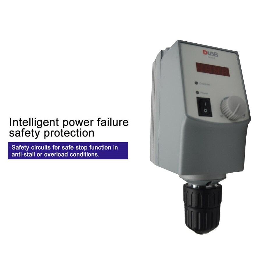 20L светодиодный цифровой электрический лабораторный смеситель накладные мешалки 50/60 Гц переменного тока, 50-2200 об/мин для химической лаборатории оборудования офисные и школьные принадлежности