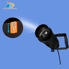 Popular Low Price OUTDOOR Advertising 20W LED Gobo Projector 1100 Lumens Company Logo Sign Gobo Projector with 1 Two Colors Gobo