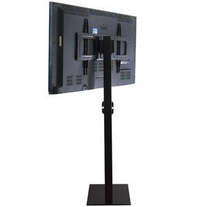 Image 2 - 32 70 مؤشر LED LCD بالبوصة البلازما شاشة عرض تلفزيون جبل الطابق حامل إمالة قطب AD عرض إدارة الأسلاك ارتفاع قابل للتعديل