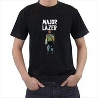 2017 Mens Fashion T Shirt Brand Gildan O Neck Short Sleeve Major Lazer Electronic Music Group