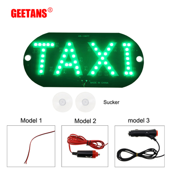 10pcs Large Size Windscreen DIY DC12V 45LED DRL Car Taxi Meter Cab Sign Light Lamp Bulb 4 Colors For All Car H