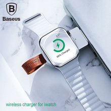 Baseus Portable Wireless Charger For Apple Watch 4 3 2 1 QI Charge Iphone Charging With Usb Slot
