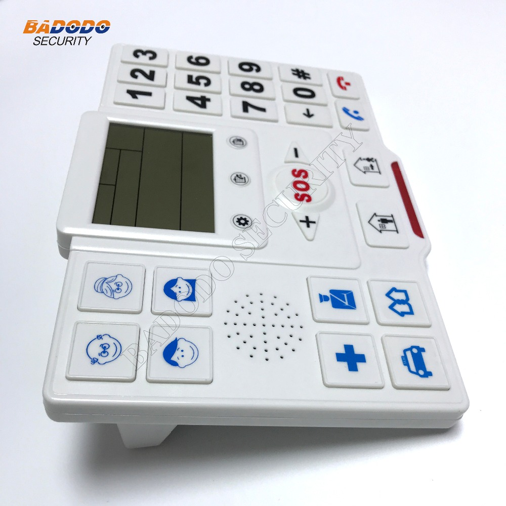 Home Safety Alert Care Android App wireless gsm telecare dial Aged ...