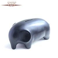Gran Alcancía Creativo Regalos De Cerámica Animal Caja Piggy Money Bank Moneda de Ahorro de Caja de Dinero de Banco Decoración Del Hogar Accessor