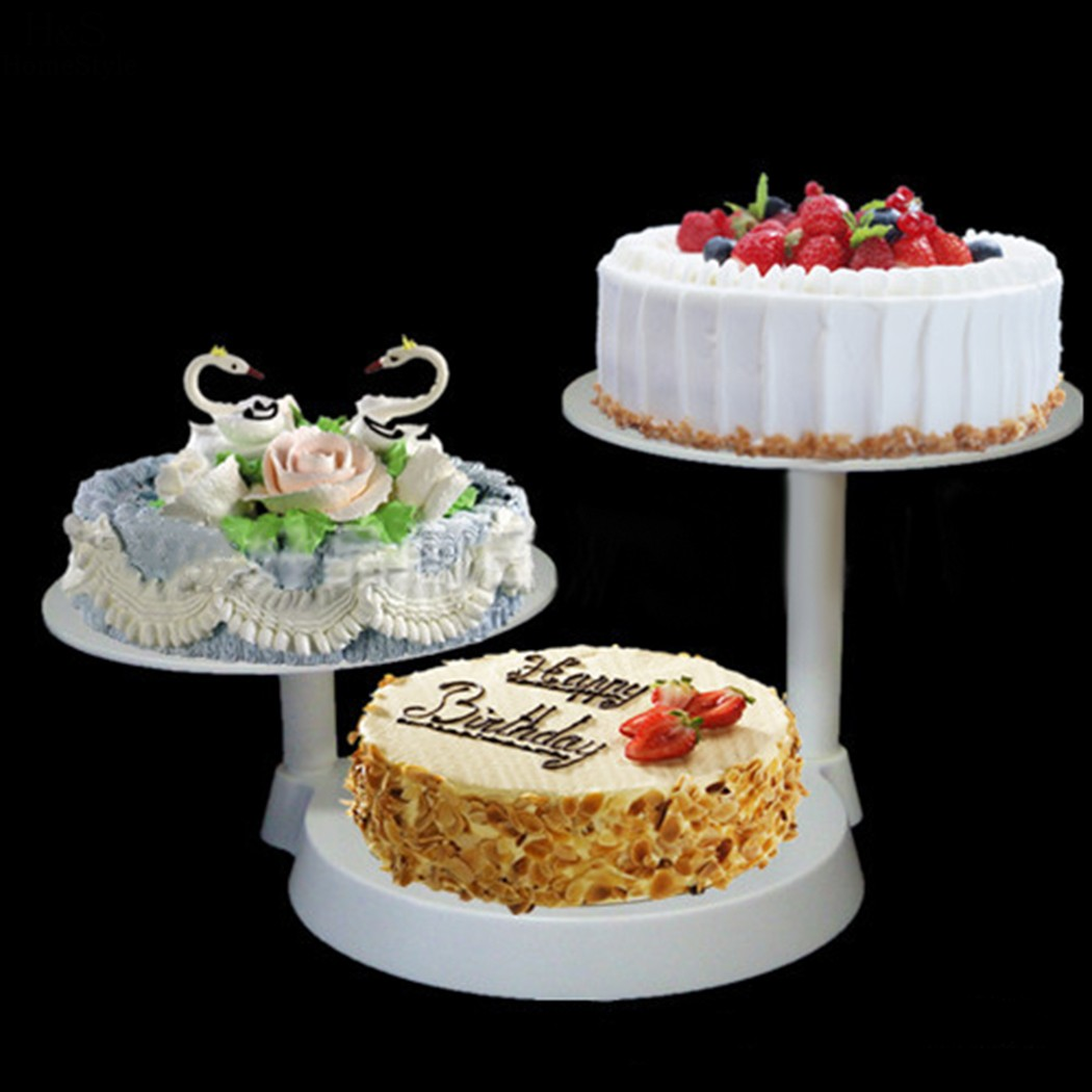 Homdox 3 Tier Cake Stand Rack Display Kitchen Cake Plate Cake <font><b>Tools</b></font> Bakeware Cake Decorating Supplies For Wedding Party
