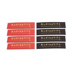 Tubo do psiquiatra do calor audiophile 14mm isolou a tubulação sleeving para o cabo audio da interconexão do orador diy