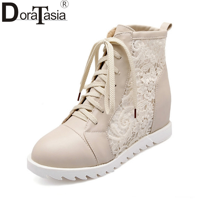 3b5ade622 DoraTasia-On-Selling-Cut-Out-Summer-Boots-Lace-Up-Round-Toe-Wedges-Sweet- Style-Shoes-Women.jpg