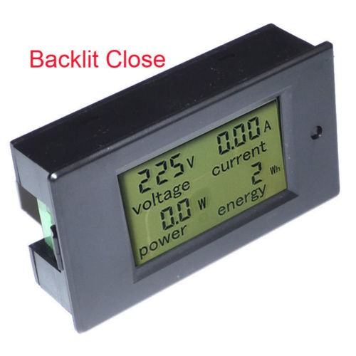 Woltomierz cyfrowy AC Mierniki napięcia 80 ~ 260V / 100A Moc Energia - Przyrządy pomiarowe - Zdjęcie 5