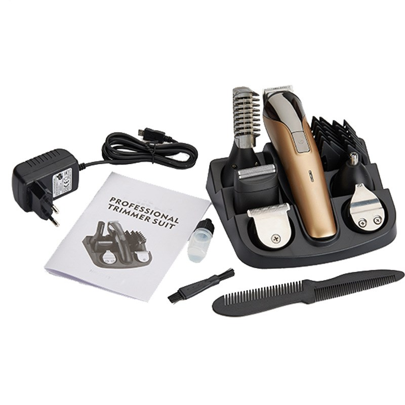 Cordless trimmer men's trimmer shaver razor cordless trimmer electric hair clippers adjustable hair clipper home adult children hair trimmer set rechargeable hair trimmer shaver razor cordless cutter electric hair clipper adjustable clipper