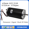 63ZTY03A 12V 3000rpm 175W  0.4 N.m 14.5A  Permanent  Magnet Brush DC Motor for Electric bicycle or Motorcycle