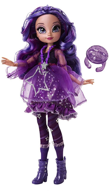 High Quality Fashion Action Original Bratz BJD Doll Purple Hair And Beautiful Clothes Dress Up Doll Best Gift For Child