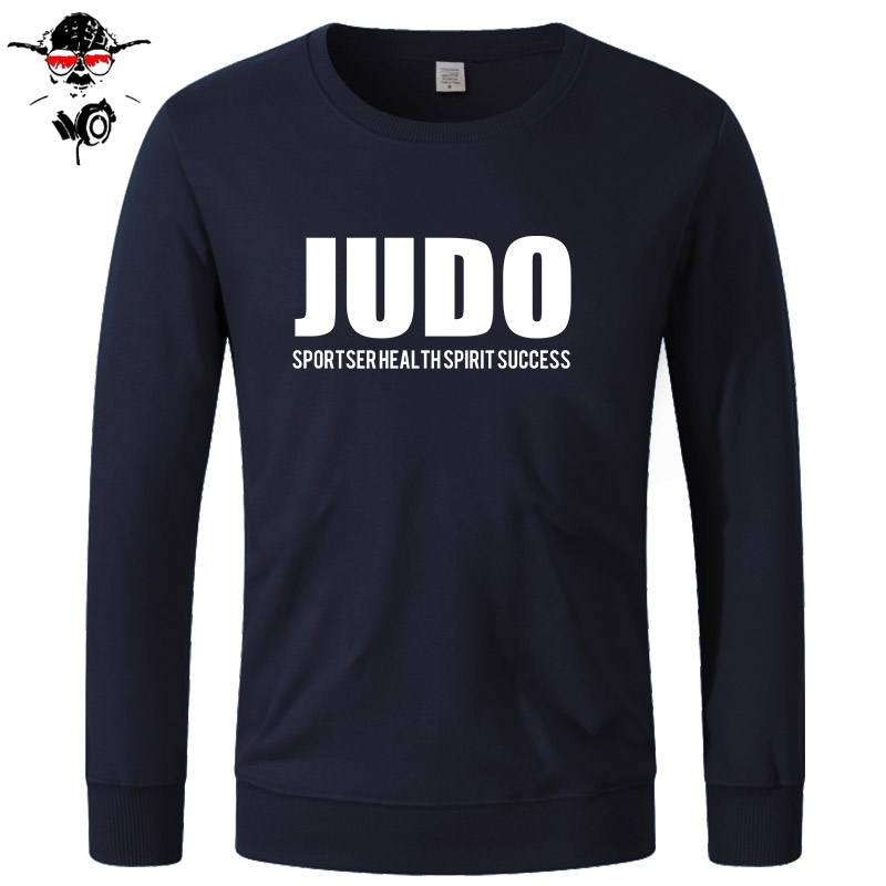 Brand Clothing Casual Male Best Selling Hoodies Judo Sportser Health Spirit Success Cotton For Man Hoodies, Sweatshirts