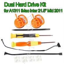 Новый бренд для A1311 IMac Inter 21,5 «Mid 2011 двойной жесткий диск SATA кабель/комплект 593-1296
