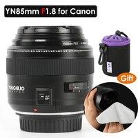 YONGNUO YN85mm F1.8 Camera Lens 85mm AF/MF Standard Medium Telephoto Lenses Fixed Focal Lens for Canon EF Mount EOS Camera DSLR