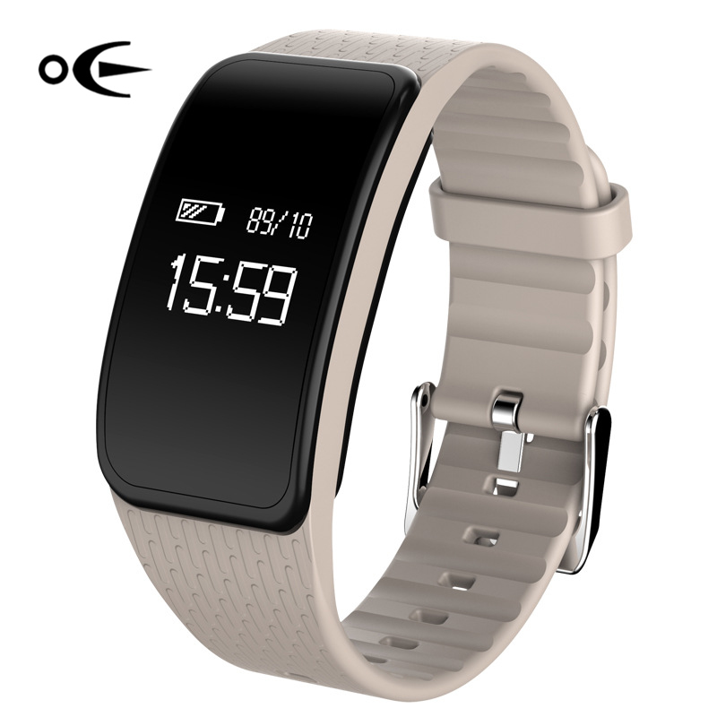 A59smart Bracelet Heart rate blood pressure and blood pressure fatigue four in one health bracelet step by step motion anti los hatem alhadainy oral health and heart