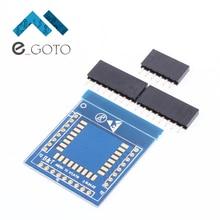Янтарного до rtl8710 Беспроводной Адаптер совета модуль Wi-Fi Transit pinboard IOT умный дом сеть 2.54 мм