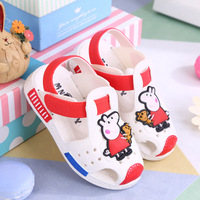 2018 Mickey Minnie Shoes Kids Girls Sandals Crystal Jelly Shoes Sandals Children Mini Shoes Baby Girl