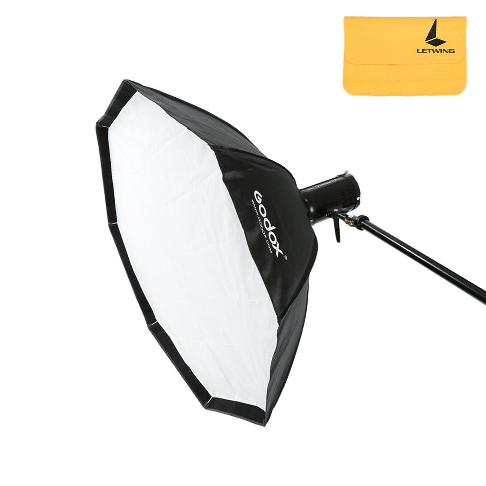 Godox SB-UE 120cm / 47.2 80cm / 31.5 in Portable Octagon Honeycomb Grid Umbrella Speedlite Softbox with Bowens Mount