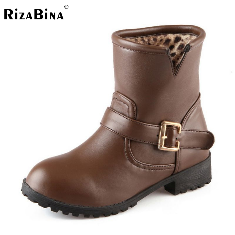 ladies flat boots women half short martin botas warm winter boot buckle leisure quality footwear shoes P20557 size 34-43 nemaonesize 34 43 women flat half short ankle boots winter snow boot cotton quality fashion buckle footwear warm botas shoes