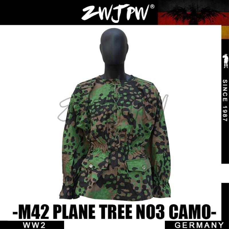 GERMAN ELITE M42 SS PLANE TREE  CAMO HUNTING SMOCK  DE/505131 sport elite se 2450