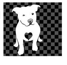15*9CM LOVE A BULL Pitbull Bulldog Reflective Car Stickers Waterproof Car Sticker Decals Black/Silver